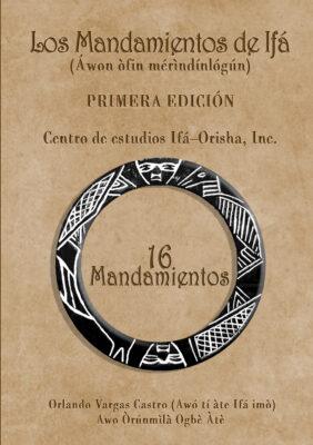 Libro Los Mandamientos de Ifa por Orlando Vargas Castro